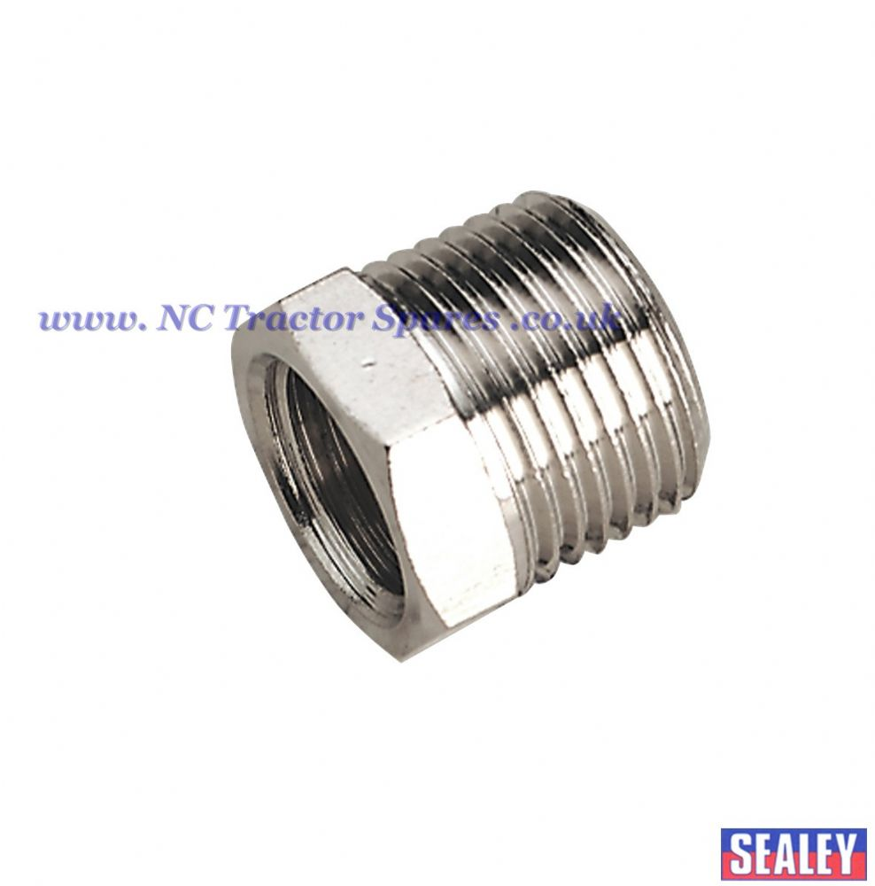 "Adaptor 3/8""BSPT Male to 1/4""BSP Female"